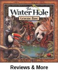 In the tradition of his best-selling alphabet book, Animalia, author and illustrator Graeme Base takes young readers on an exhilarating journey of discovery with an ingenious fusion of counting. Water Cycle Activities, Jungle Activities, Weather Activities, Stem Activities, Holes Book, The Reader, Rainforest Theme, Rainforest Preschool, Zoo Preschool