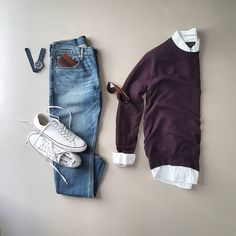 14 Stunning Outfit Grids To Help You Look Amazing - ★ Mens Fashion Rugged ★ , Mens Fashion Blog, Fashion Mode, Look Fashion, Urban Fashion, Fashion Photo, Stylish Mens Outfits, Casual Outfits, Men Casual, Smart Casual