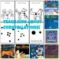 Free Printable Constellation Cards - Teach Beside Me