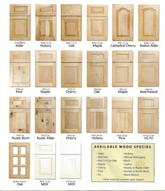 styles+of+kitchen+cabinet+doors Kitchen Cabinet Door Styles - Kitchen Pro