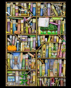 #FantastischesMalbuch  #ColinThompson    #Inktense  #Polychromos  #CaranDAche  #ColorEscapes  #adultcoloring