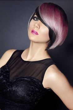 15 Stunning Short Ombre Hair Ideas for 2020 – HairstyleCamp Pink And Black Hair, Hair Color Pink, Pink Hair, Hair Colours, Pastel Hair, Ombre Hair, Cool Short Hairstyles, Short Hair Styles, Short Ombre