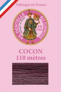 Farbiges Klöppelgarn Cocon Calais Nr. 6946 Brombeere