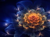 Flores abstractas 3D