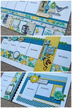 Debbie Sanders 'Super Saver' layouts for Saturday
