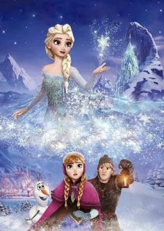 Frozen! Cool picture!