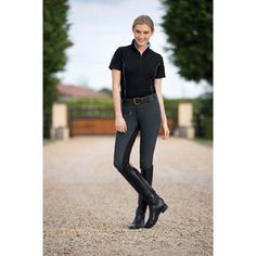 Devon-Aire® All Pro Full-Seat Breeches (horseback riding pants). Size: 28. Price: $64.99. Color: Charcoal/Black.