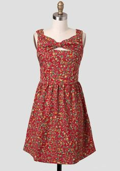 Postcards From Europe Floral Dress | Modern Vintage Rustic Style