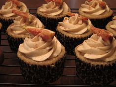 Fig Spice Cupcakes