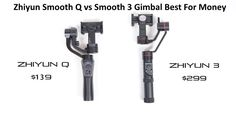 Zhiyun Smooth Q vs Smooth 3 Gimbal Best For Money Smartphone or GoPro #gimbal #phones