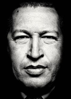 Hugo Chávez, Time magazine, 2013 (photo: Platon).