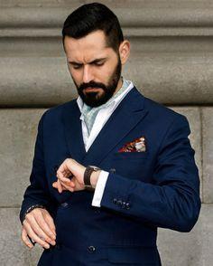 classic style jacket & cravat