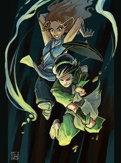 Katara and Toph