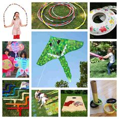 50 Summer Crafts, Recipes and Games | FamilyCorner.com® - lots of simple, fun ideas to entertain the kids