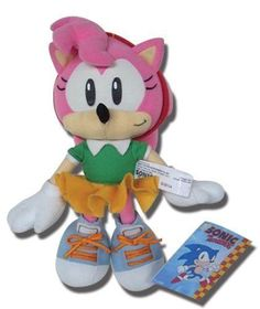 """10/"""" Super Shadow Plush Doll Toy GE-52631 REAL New Licensed Sonic Hedgehog"""
