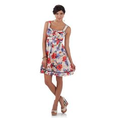 Jessica Simpson Collection Ruffle Front Tank Dress