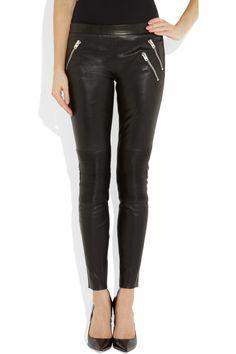 Already in my winter wardrobe, Joseph leather trousers