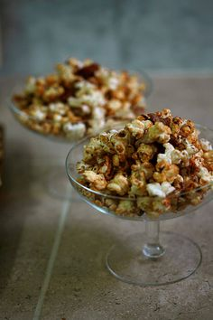 Maple Bacon Kettle Corn. I've made this but tossed in extra bacon along with some dark chocolate chips. Yummmm!