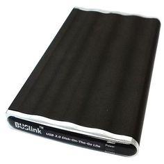 Bipra One Touch Disco duro externo color negro negro 200GB FAT32