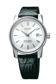 Seiko King Seiko KSK #Seiko #seikowatches #watchtime #watches #watchoftheday #watchnerd #watchgeek Modern Watches, Elegant Watches, Vintage Watches, Crown And Buckle, Apple Watch 1, Watch Blog, Shield Design, Hand Watch, Vintage Models