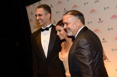 WASHINGTON, DC - JANUARY 20: (L-R) San Juan attorney and activist Andres W. Lopez, actress Eva Longoria and San Antonio philanthropist and business leader Henry Munoz III attends Latino Inaugural 2013: In Performance at Kennedy Center at The Kennedy Center on January 20, 2013 in Washington, DC. (Photo by Rick Diamond/Getty Images for Latino Inaugural 2013) Presidential Inauguration, Weather Warnings, January 20, Eva Longoria, Giving Back, San Antonio, Washington Dc, India, Actresses