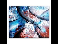 How to create an illusion of depth in Abstract Painting by Peter Dranitsin - YouTube