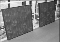 Flower designed cells built into a solarPV module, looks nice. Reference: http://onlinelibrary.wiley.com/doi/10.1002/9781118361177.oth3/pdf