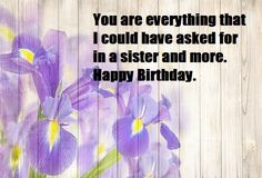 Beautiful birthday wishes for sister with happyness, love and blessing, birthday wishes messages for sister,Brother,Friend,wife,husband,son. Beautiful Birthday Wishes, Birthday Wishes For Sister, Birthday Wishes Messages, Happy Birthday, Message For Sister, Blessing, Brother, Sisters, Husband