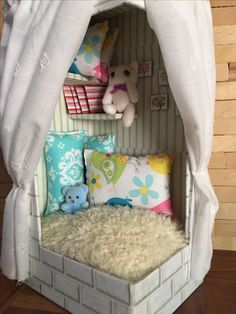 Reading Nook handmade by me...
