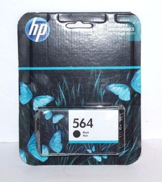 HP Ink Cartridge 564 Black Noir Expiration Date Sept 2017 NEW Unopened #HP