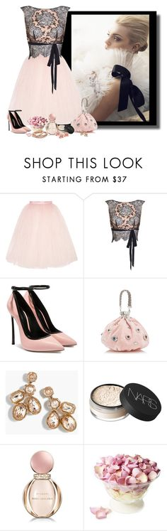 """""""A pink delight"""" by whiteflower7 ❤ liked on Polyvore featuring Ballet Beautiful, Agent Provocateur, J.Crew, NARS Cosmetics, Bulgari and Freeze"""