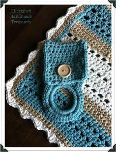 Cherished Handmade Treasures: Easy #Crochet Dish Cloth