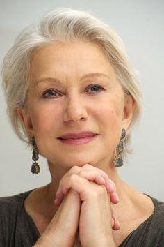 Helen Mirren...sassy stylish interesting lady.