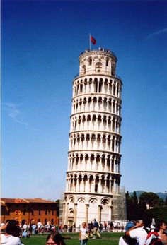 Seven Wonders of the World: Leaning tower of Pisa