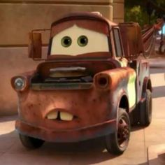Dad said no more pinning Cars cars. Disney Princess Characters, Cars Characters, Disney Pixar Cars, Walt Disney, Cars 2006, Pixar Movies, Movie Cars, Tow Mater, Disney Illustration