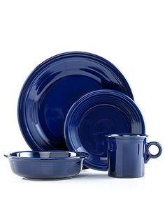Fiesta Dinnerware, 4 Piece Place Setting - Casual Dining - Kitchen - Macys Bridal and Wedding Registry #macysdreamfund