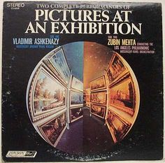 Vladimir Ashkenazy (piano) / Zubin Mehta + L.A. Philharmonic - Pictures at an Exhibition