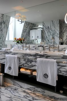 De L'Europe Amsterdam Hotel Bathrooms, Bathroom Design Inspiration, Double Vanity, Amsterdam, The Originals, Double Sink Vanity