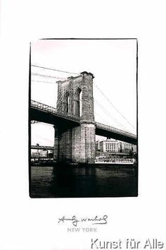 Andy Warhol - Bridge, 1986