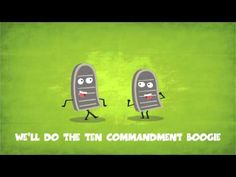 Go Fish - The Ten Commandment Boogie~Not full song Sunday School Songs, Sunday School Activities, Church Activities, Bible Activities, Sunday School Crafts, Group Activities, Music For Kids, Kids Songs, Lessons For Kids