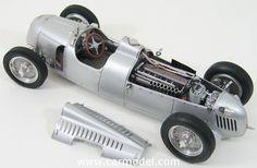 CMC - AUTO UNION - TYPE C 1936-1937 Skala:: 1/18Code: M034Farbe: SILVERMaterial: Die-Cast