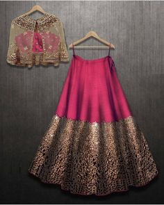 Excited to share this item from my shop: VeroniQ Trends- Designer Lehnga Choli in foil mirror work with A koti or jacket in Royal Majenta Color-Engagement,partywear Indian Attire, Indian Wear, Indian Outfits, Indian India, Indian Bridal Wear, Indian Designer Outfits, Designer Dresses, Designer Clothing, Indian Designers