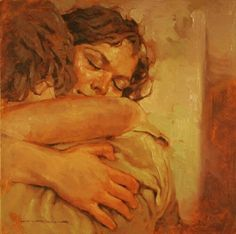 It's when I hold you in my arms that my life finally feels complete ❤️ Artist: Joseph Lorusso Joseph Lorusso, Tableaux Vivants, Classical Art, Old Art, Pretty Art, Aesthetic Art, Oeuvre D'art, Art Inspo, Painting & Drawing