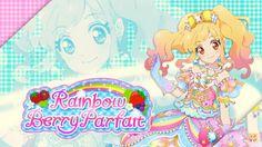 Aikatsu Stars! Nijino Yume's Rainbow Berry Parfait