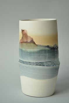 Porcelain and silicon, Efrat Keren, 2013