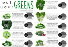 Types and Benefits of Greens