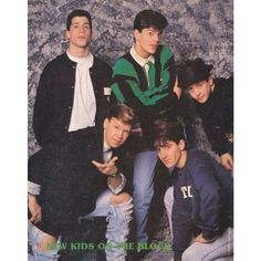 ♥ New Kids On The Block ♥ I had this poster!!