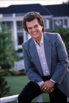 "Conway Twitty.....omgosh...""Hello Darlin"" and ""Make Believe"".....still make me swoon.....We miss you darlin!"