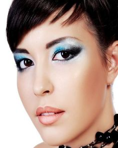 Blue-Hued Shadows For Hazel Eyes