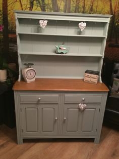 Welsh dresser painted with Everlong marina paint